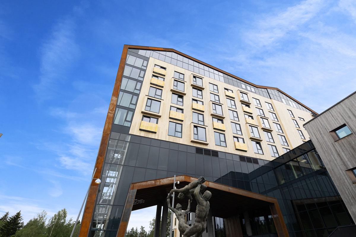Hotellfasade