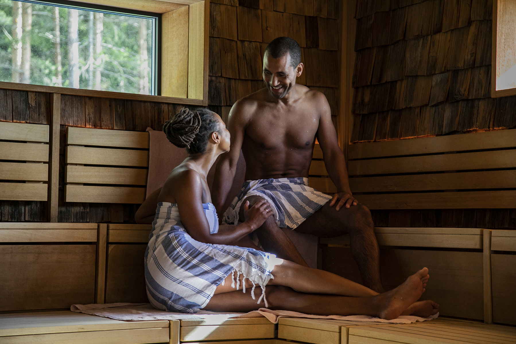 Par i Skogsauna