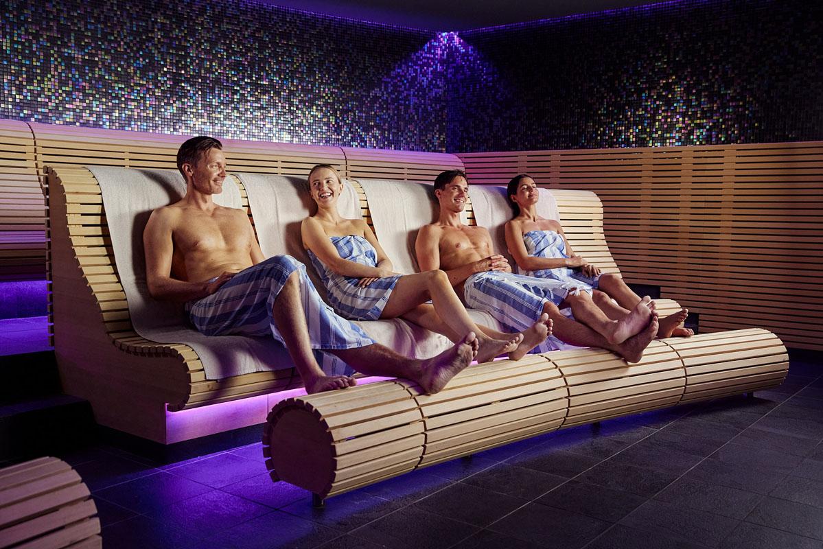 TV soft sauna