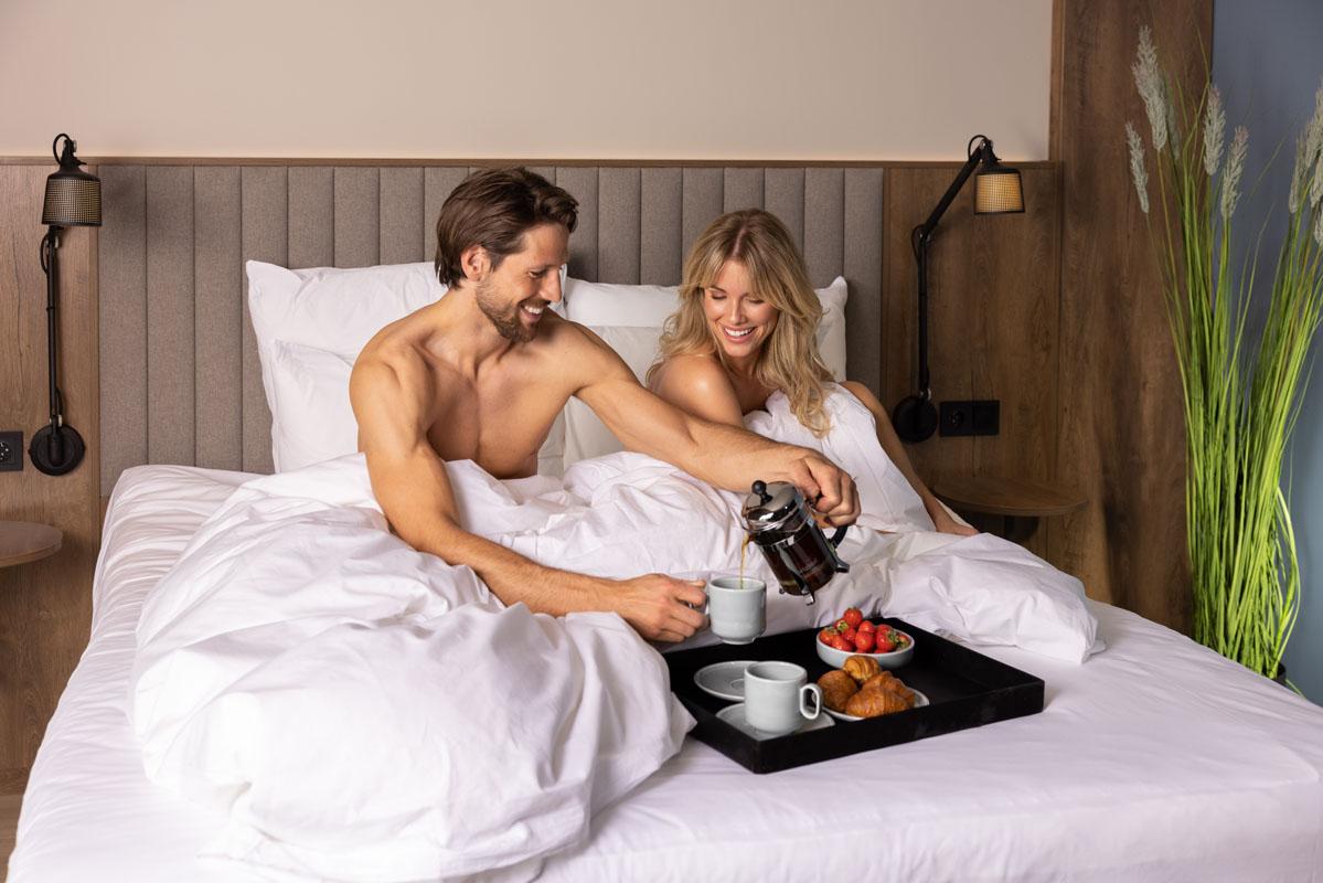 Kaffe på sengen