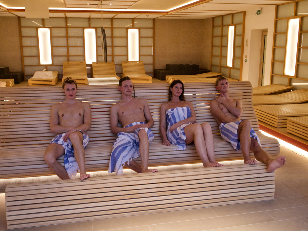 Japansk meditasjonssauna