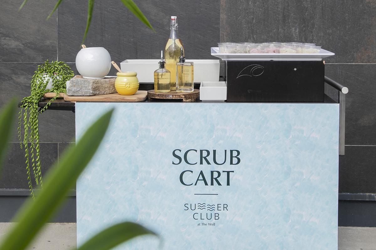 Scrub Cart